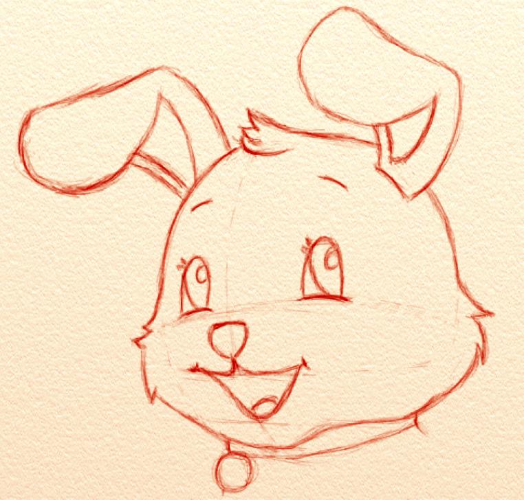 comment dessiner un chien style cartoon